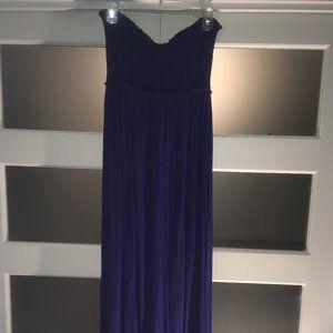 BCBGMaxAzria Strapless Maxi Tube Top Dress